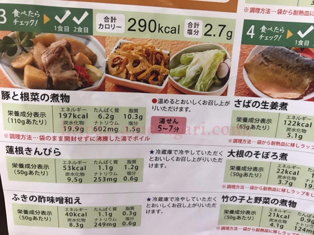 ベルーナグルメ 常温惣菜 口コミ