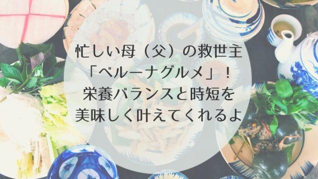 ベルーナグルメ 口コミ 宅配 冷凍キット 総菜