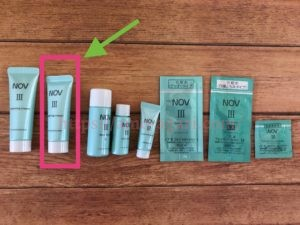 NOVⅢ(ノブ3)トライアルセット 洗顔料 口コミ